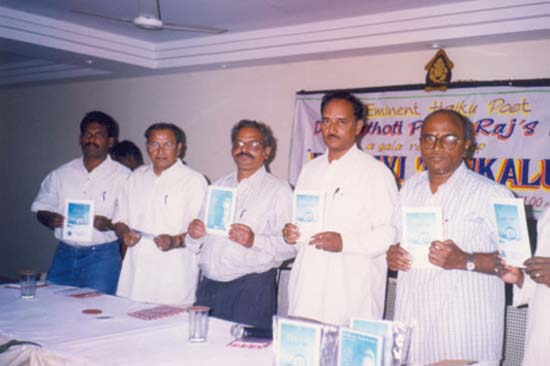 BOOK RELEASE-INDIAN HAIKU CLUB-PRITHVI TANKALU POETRY BOOK 08